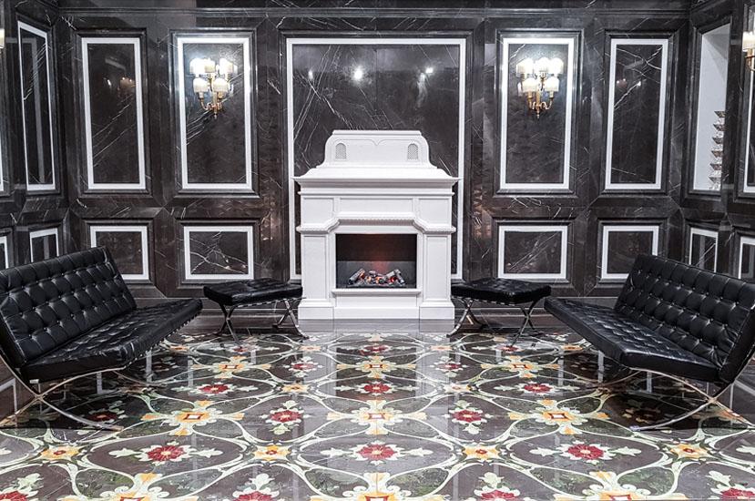 pavimento in marmo puglia