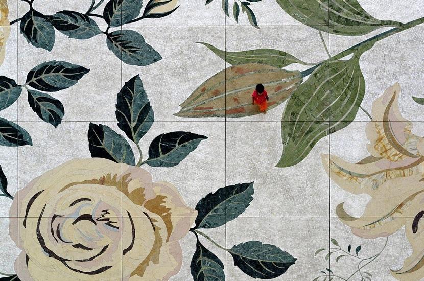 mosaici in marmo decorativi